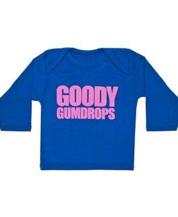 goody-gumdrops-cool-slogan-baby-t-shirt-ideale-per-magliette-blu-blue-0-6-mesi