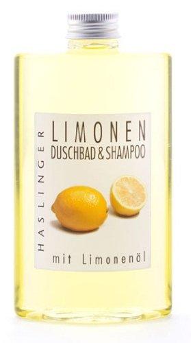 Limonen Shampoo - Duschbad mit Limonenöl, Duschgel - Haarwäsche 200 ml