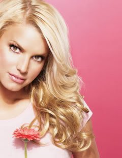 Jessica Simpson HairDo 23 Inch Clip-In Wavy Extension, R25 Ginger Blonde