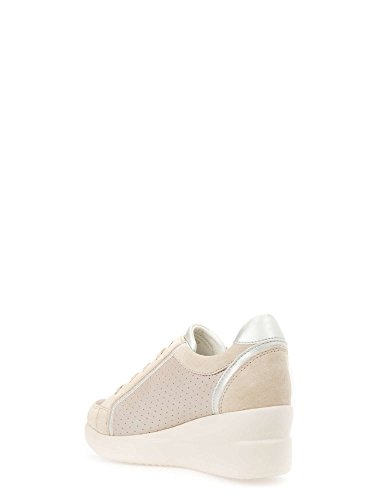 Geox D5230A 0BV22 Sneakers Donna Beige