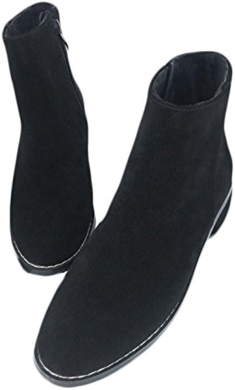 GTYW Ladies High Heels Heels Heels Stivali da Donna Martin stivali Stivali Singoli Autunno E Inverno Matte Plus Velvet Rough...   Outlet Store    Uomini/Donne Scarpa  b9b20c