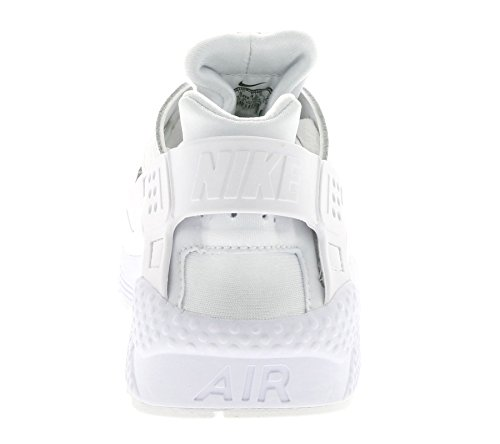 Nike Air Huarache Run Prm, Chaussures de Running Entrainement Homme Blanc Cassé - Blanco (Blanco (White/White-Black))