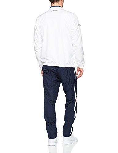 Lacoste Herren Jogginganzug Multicolore (Blanc/MARINO-Bouton D Or-)
