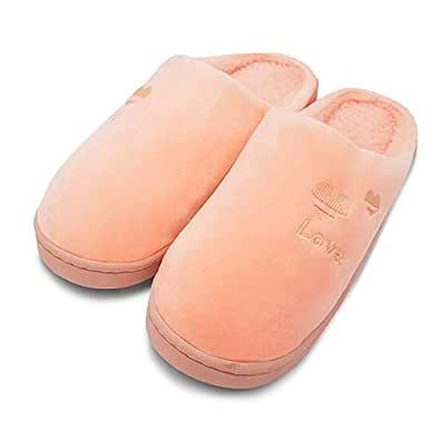 VRITRAZ Women Comfort Slip On Closed Toe Indoor Clog House Slipper