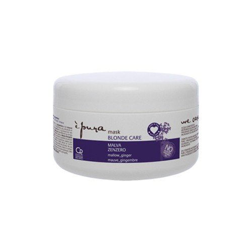 Scheda dettagliata È Pura - Maschera Blonde Care - Trattamento Professionale Intensivo Antigiallo per Capelli Biondi e con Meches - 300 ml