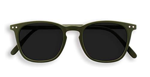IZIPIZI PARIS | SUN LetmeSee #E Khaki Green Grey Lenses +0,00 | Sonnenbrille| Sonnenschutz