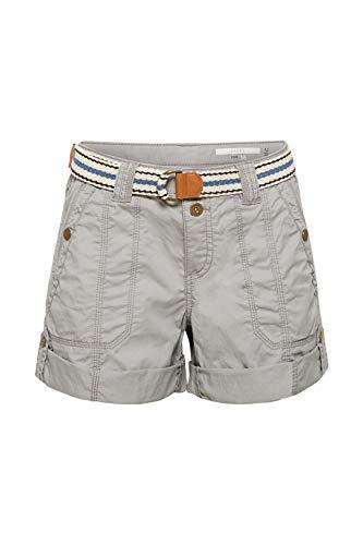 edc by ESPRIT Play-Shorts mit Gürtel, 100% Baumwolle