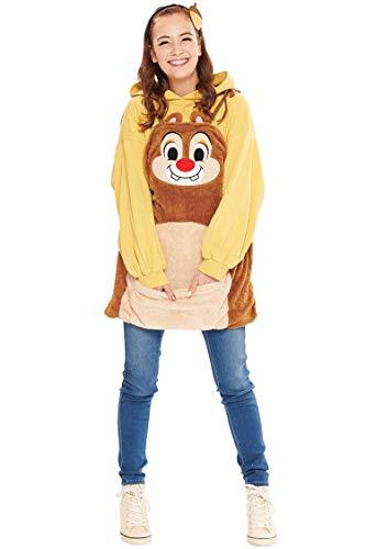 Disney Chip und Chap Dale Overalls Kostuem Damen Kleidlaenge 74cm 95638 (Disney Chip Und Dale Kostüm)