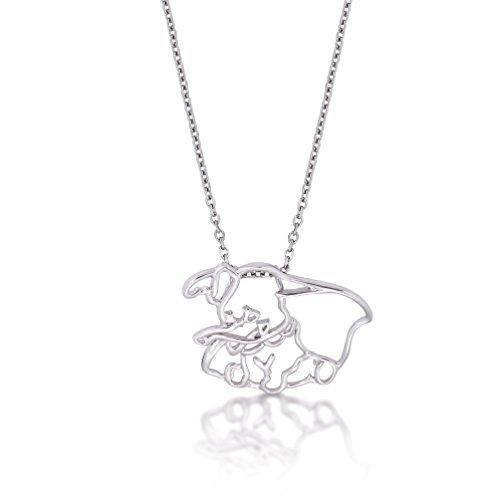 Disney Couture oro blanco elefante Dumbo esquema Character collar