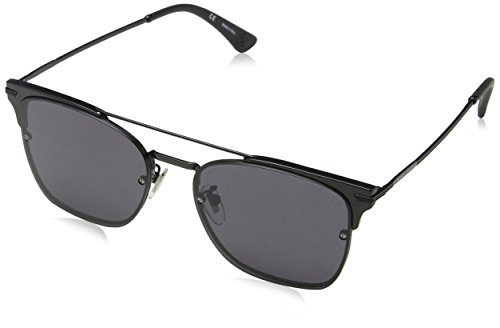 Police Sunglasses Herren Sonnenbrille Highway Two 3, Schwarz (Shiny Black), 56