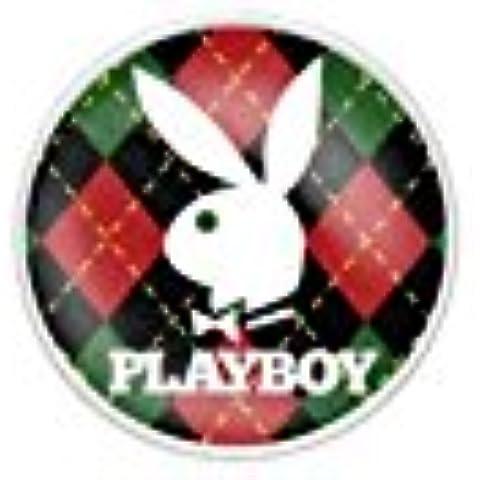 Paula & Fritz piercing per ombelico in acciaio chirurgico in acciaio inox 316L Playboy Bunny stampa PBNS01