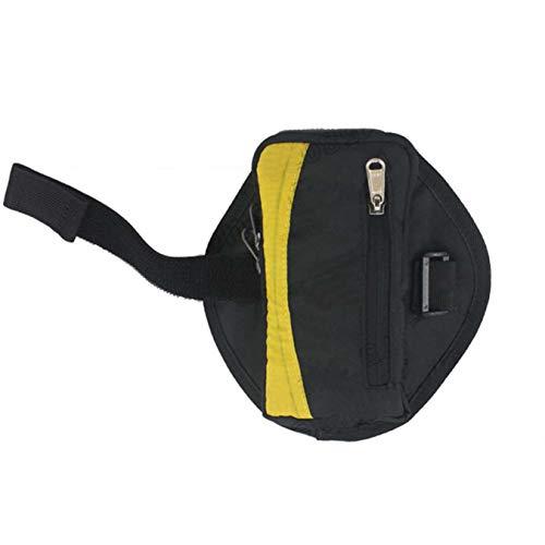 Bean Bag Mount (AWJ06 Unisex wasserdichte Handyarmtasche Laufen Multifunktions-Outdoor Sport Armtasche Armband - Schwarz)