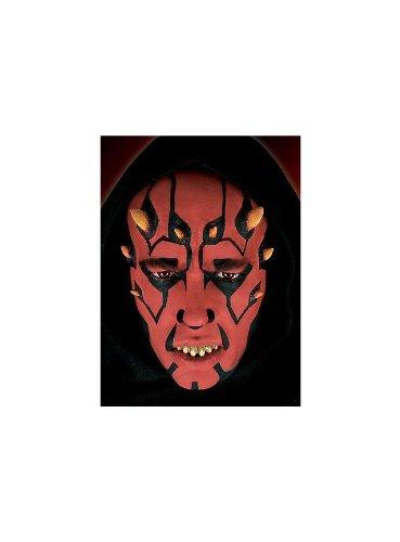 Unbespielt Halloween Karneval Party Kostüm Dornen Latexapplikation für Erwachsene (Clone Wars Halloween Kostüme)
