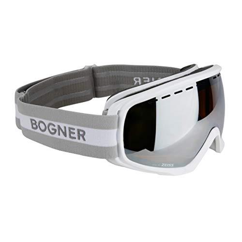 Bogner Skibrille VISION Verspiegelte Doppelscheibe - WHITE