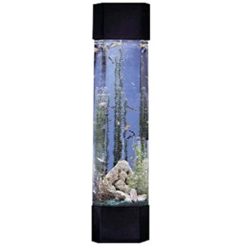 Midwest Tropical Pentagon Aqua Tower 30 Gallon Aquarium Set by Midwest Tropical Inc
