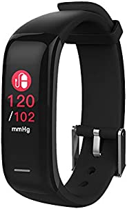 Hammer Pro Multifunctional Black Fitness Band and Activity Tracker Unisex Band Watch - Fit Pro