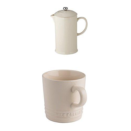 Le Creuset Steinzeug Große Teekanne hoch, 1,3 L, Vulkanisch
