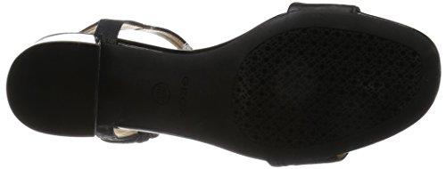 Geox D724XB0SKBC Sandalo Donna Nero