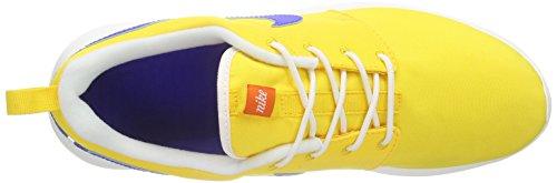 Nike Roshe One Retro, Sneaker Basse Uomo Gelb (Varsity Maize gelb/Racer Blau/Weiß)