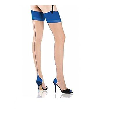 Cervin Seduction Bicolore non-stretch seamed stockings