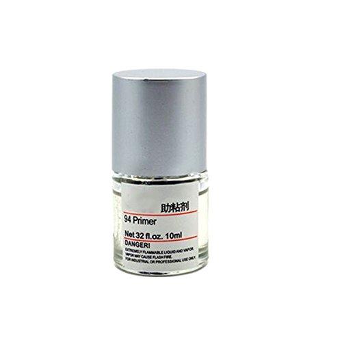 weituoli - Bottiglia di Vetro Liquido 10ML con promotore di adesione Adesivo bidirezionale