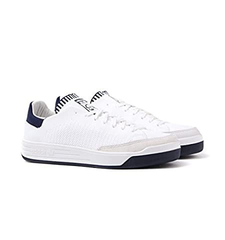 Adidas Originals Rod Laver White Super Primeknit Trainers-UK