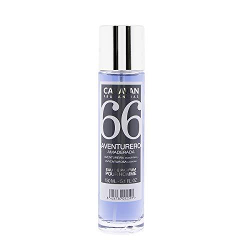 CARAVAN FRAGANCIAS Nr. 66 - Eau de Parfum mit Vaporizer für Herren - 150 ml.