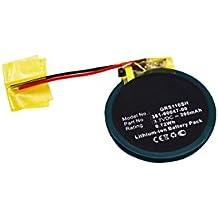 subtel® Batería premium para Garmin Approach S1 Approach S3 Approach S4 Forerunner 110 Forerunner 210 Forerunner S1 (200mAh) 361-00047-00,361-00064-00 bateria de repuesto, pila reemplazo, sustitución