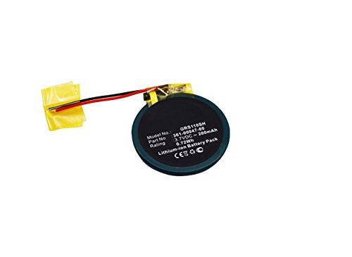 subtel® Batería premium para Garmin Approach S1 Approach S3 Approach S4, Garmin Forerunner 110 Forerunner 210 Forerunner S1 (200mAh) 361-00047-00,361-00064-00 bateria de repuesto, pila reemplazo, sustitución