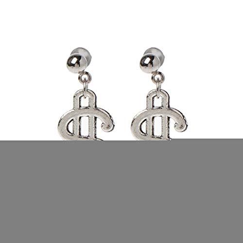 KINTRADE Frauen Ohrring Antike Splitter Dollarschein Geld Währung Muster Baumeln Ohrringe Für Frauen