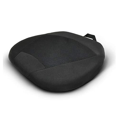 Liuliangmei Auto Sitzkissen, Gel Memory Foam Kissen Verdickung Kühlung Silikon Gel Kissen, Einfache rutschfeste Sitzkissen (Polster Stoff Kabine, In)