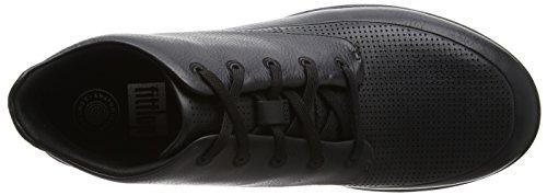 Fitflop Herren Sneaker Sporty-pop Softy High Top Nero Schwarz (tutto Nero)
