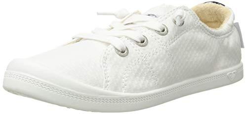 Roxy Damen Bayshore Slip on Shoe Sneaker Turnschuh, weiß, 36 EU (Von Sneaker Roxy)