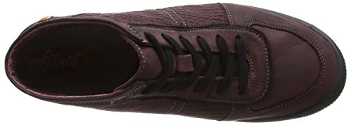 Softinos Inu343sof, Sneakers Hautes femme Violet - Purple (Magenta)