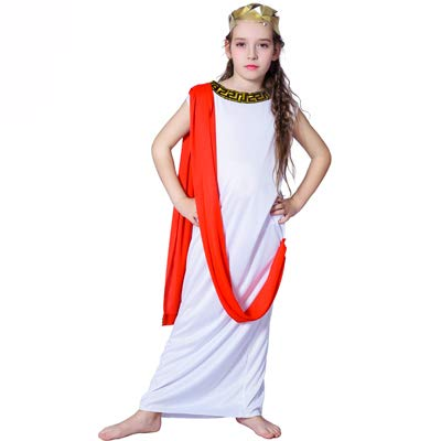 Goddess Child Roman Greek Aphrodite New Instant Girls Fancy Dress Costume age 10-12 years