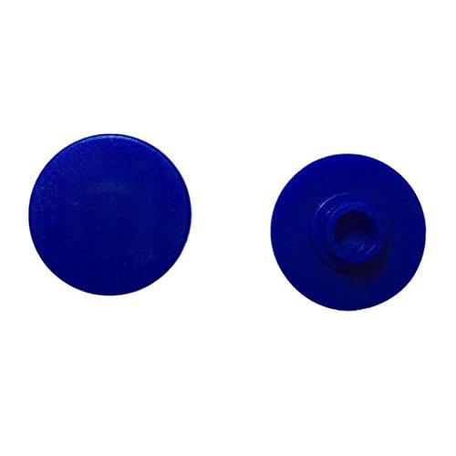 Preisvergleich Produktbild Tefamore 2 Stück Caps für Hand Finger Spinner Schreibtisch Focus EDC Spielzeug , Blau