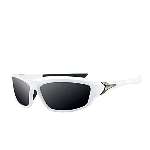 Sonnenbrille Sonnenbrille Classic Hochwertige Frame-Hd-Objektiv Polarisiert Uv400 Outdoor Sport Sonnenbrillen Für Männer Frauen Schwarz Und Weiß