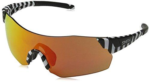Smith PIVLOCKARE.MAXN X6 PIVLOCKARE.MAXN X6 S37 99 Rechteckig Sonnenbrille 99, WHTEBK PTTRN/PK PINK