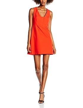 New Look Damen Kleid Bonded Crepe