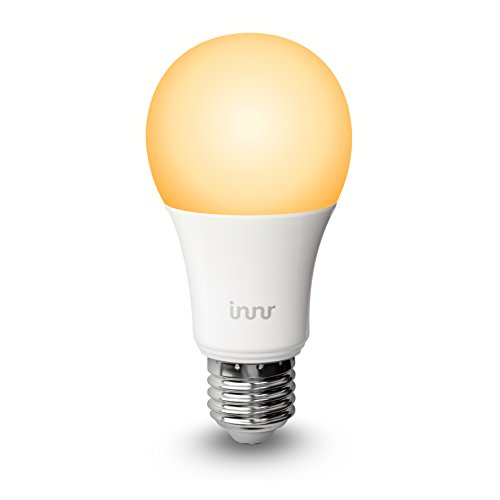 Innr Smart Bulb E27, Works with Philips Hue*, Amazon Alexa/Google Assistant (Hub Required), Tunable & Dimmable White Ambiance Light, RB 178T
