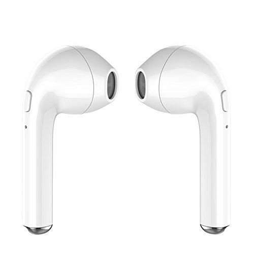 Mini Bluetooth 4.2 Auriculares in Ear Auriculares inalámbricos,Cancelación de Ruido, Micrófono Incorporado, Auriculares Estéreo Inalámbricos.Funciona con la Mayoría de Dispositivos Bluetooth