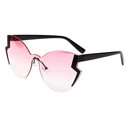 WooCo Sonnenbrille Strahlenschutz für Damen Herren, Heißer Verkauf Erwachsene Vintage Sonnenbrille Stilvolle Neuheit Stil Eyewear Brillen Männer Frauen(A,One size)
