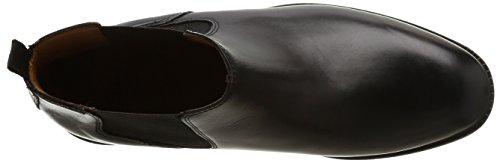 Clarks Chilver Top, Bottes Classiques Homme Noir (Black Leather)