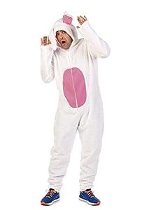Limit Sport Disfraz de conejo blanco crazy para adulto - L