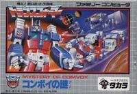 """Transformers: Convoy no Nazo """"Famicom"""" Nintendo [Import Japan]"""