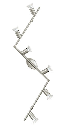 EGLO Spotleuchte Modell Buzz Led / 6, nickel matt 92599 E
