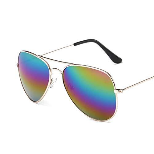 CCGSDJ Vintage Pilot Sonnenbrille Frauen Männer Shades Retro Klassische Schwarze Sonnenbrille Weibliche Männliche Luxusmarke Designer Oculos
