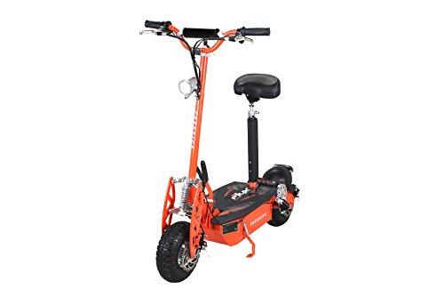 E-Flux E-Scooter Roller Original Freeride 1000 Watt 48 V mit Licht und Freilauf Elektroroller E-Roller in vielen Farben