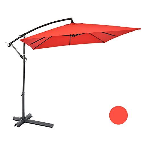Ombrello da esterno in paglia artificiale ombrellone da esterno da ombrellone da tavolo ombrellone ombrellone pulsante ombrellone ombrellone ombrellone da giardino 2.4 * 2.4m ldfz