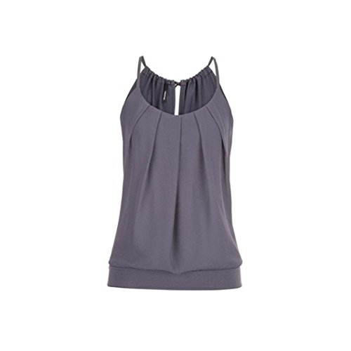 Dichter Tunika Top (KIMODO T Shirt Bluse Tank Top Damen Camisole Sommer Lose Weste Schwarz Blau Rosa Große Größe Mode 2019)